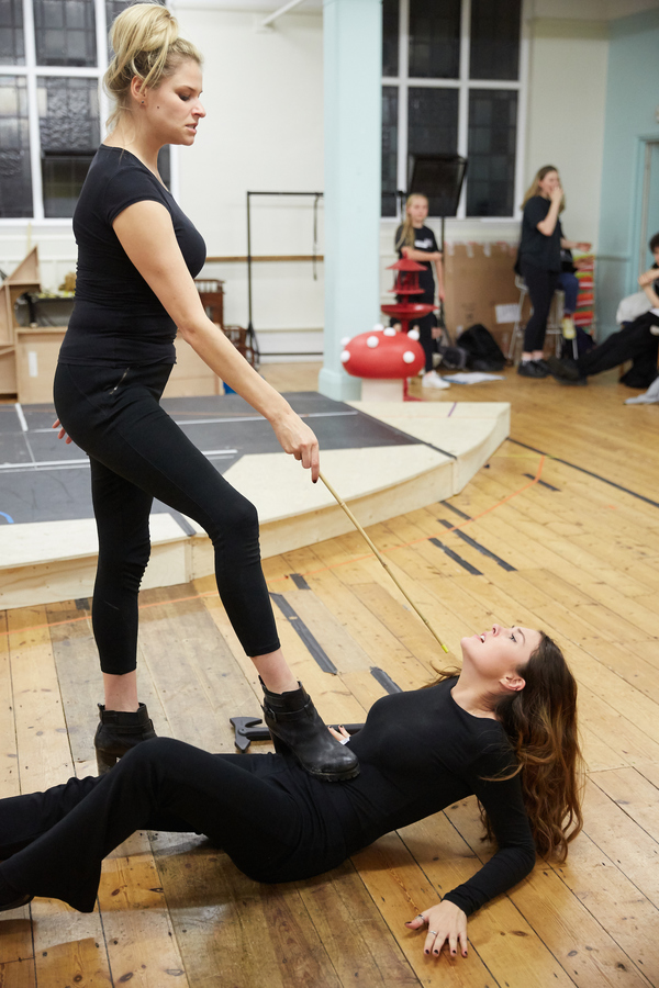 Georgina White and Natasha Darrah Photo