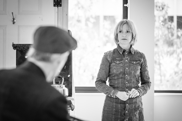 Photo Flash: Inside Rehearsal For PINTER FIVE