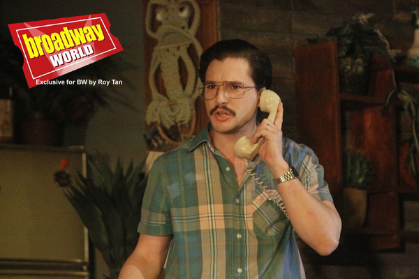 Photo Flash: Exclusive Look at Kit Harington in TRUE WEST