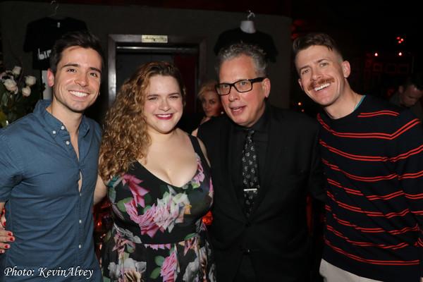 Matt Doyle, Bonnie Millegan, Billy Stritch, Will Van Dyke Photo