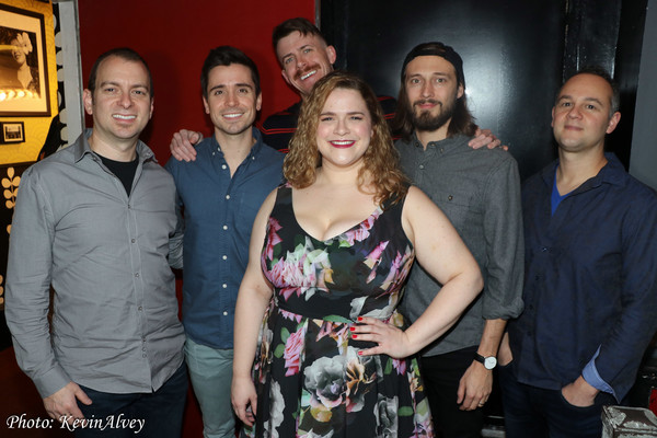 Michael Aarons, Matt Doyle,  Will Van Dyke, Bonnie Millegan, Mason Ingram, Mark Verdi Photo