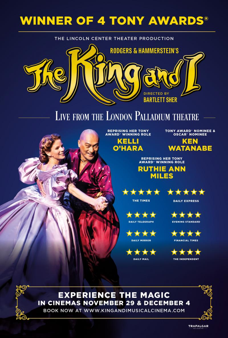 BWW Review: Trafalgar Releasing's Film Capture of THE KING AND I is Sumptuously Beautiful