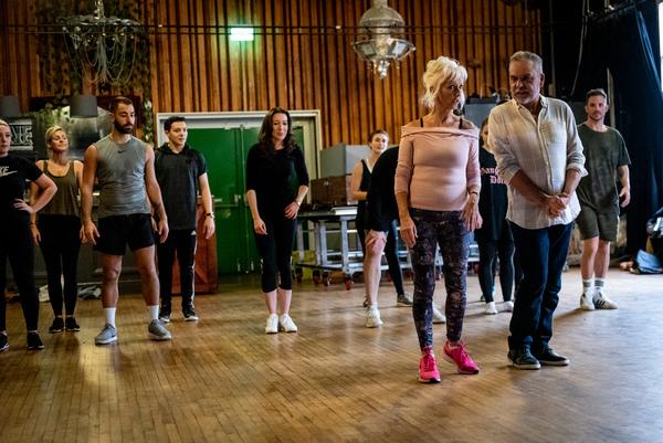 Bethan-Wyn Davies, Debbie McGee, Ian Adams  Photo