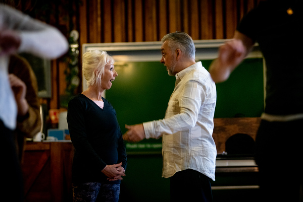 Debbie McGee and Ian Adams Photo