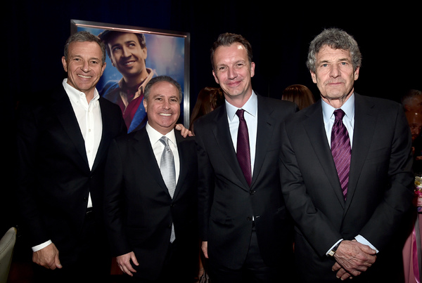 Bob Iger, Alan Bergman, Sean Bailey, Alan Horn