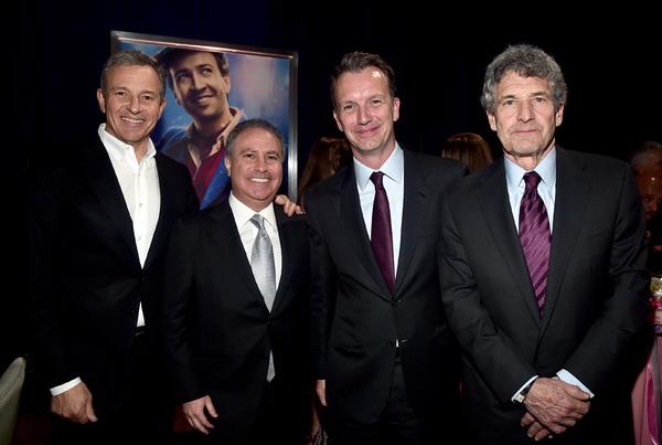Bob Iger, Alan Bergman, Sean Bailey, Alan Horn