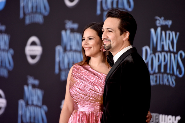 Photo Flash: Lin-Manuel Miranda, Emily Blunt, and More Attend the Premiere of MARY POPPINS RETURNS