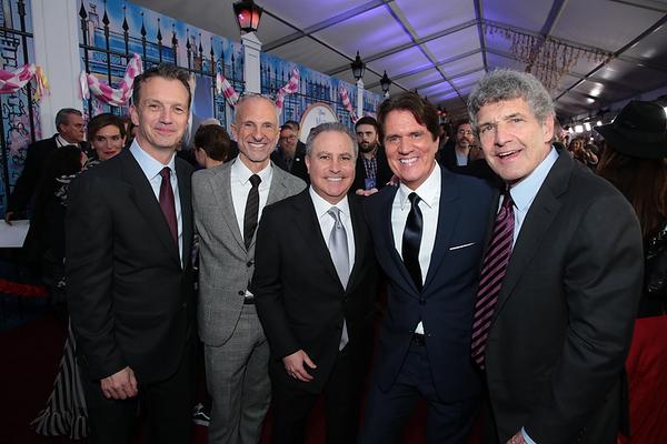 Sean Bailey, John DeLuca, Alan Bergman, Rob Marshall and Alan F. Horn
