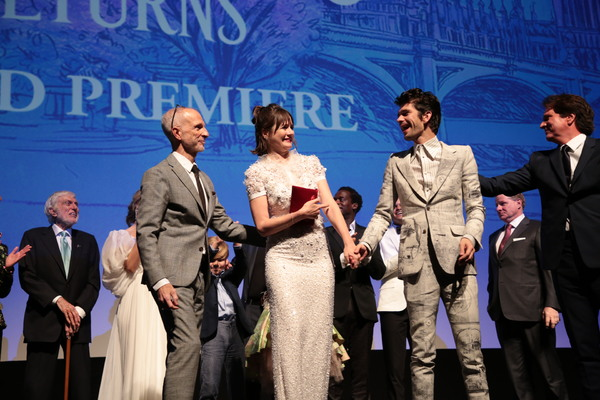 John DeLuca, Emily Mortimer, Ben Whishaw and Rob Marshall
