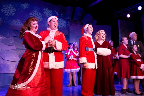 Photo Flash: WHITE CHRISTMAS Opens at The Firehouse Theatre