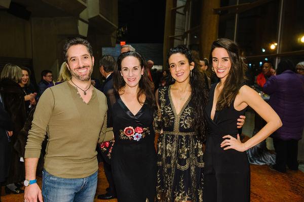 Alexander Sovronsky, Susan Rome, Emily Shackelford, and Maryn Shaw  Photo