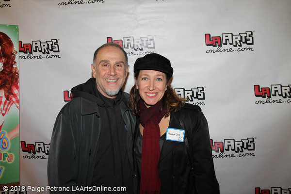 John Kassir (Tales of the Crypt) and Vanessa Waters (X-men)   Photo