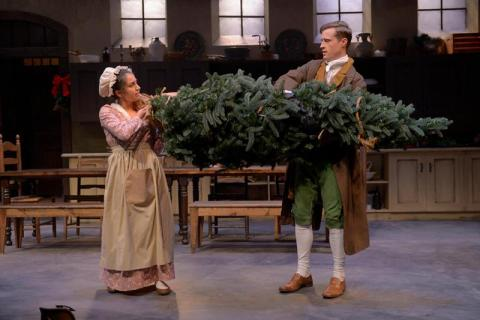 BWW Review: THE WICKHAMS: CHRISTMAS AT PEMBERLEY at Marin Theatre Company is wonderful alternative holiday fare