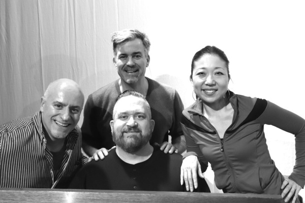 Richard Vida (Director), W. Brent Sawyer (Musical Director), Steven Fisher (Writer and Musical Supervisor) and Lainie Sakakura (Choreographer)