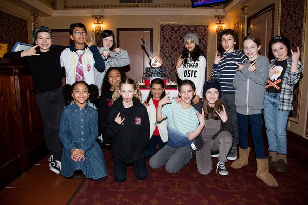 Photo Coverage: SCHOOL OF ROCK Celebrates Three Years On Broadway