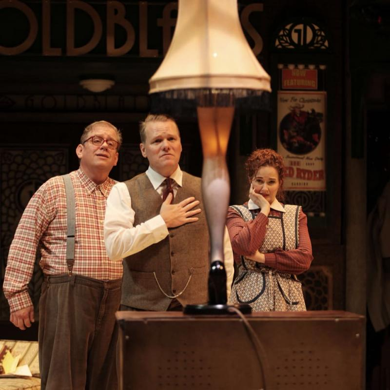 A Christmas Story Characters.Bww Review Nashville Rep S Holiday Tradition Of A Christmas