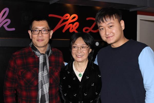 Damon Chua (Playwright), Tisa Chang (Founding Artistic  Producing Director), Chongren Fan (Director)