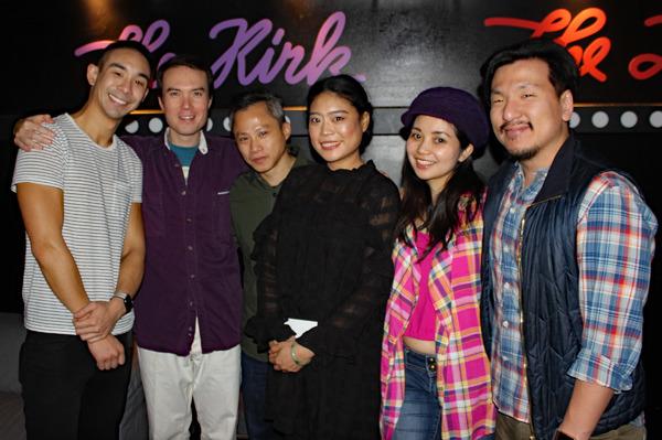 Roger Yeh, Jonathan Frye, Dinh James Doan, Ya Han Chang, Leanne Cabrera, Brain Kim