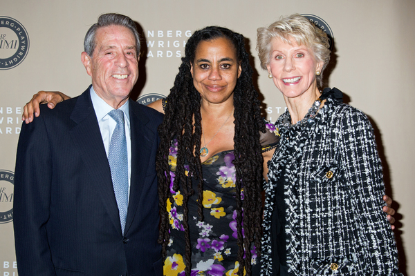 Michael A. Steinberg, Suzan-Lori Parks, Joan Steinberg Photo