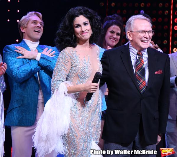 Michael Berresse, Stephanie J. Block and Bob Mackie  Photo