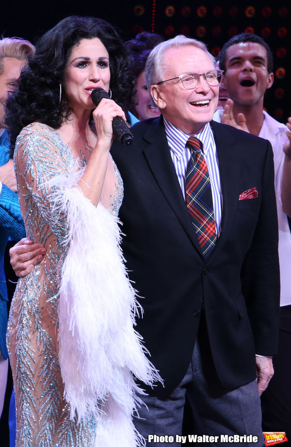 Stephanie J. Block and Bob Mackie Photo