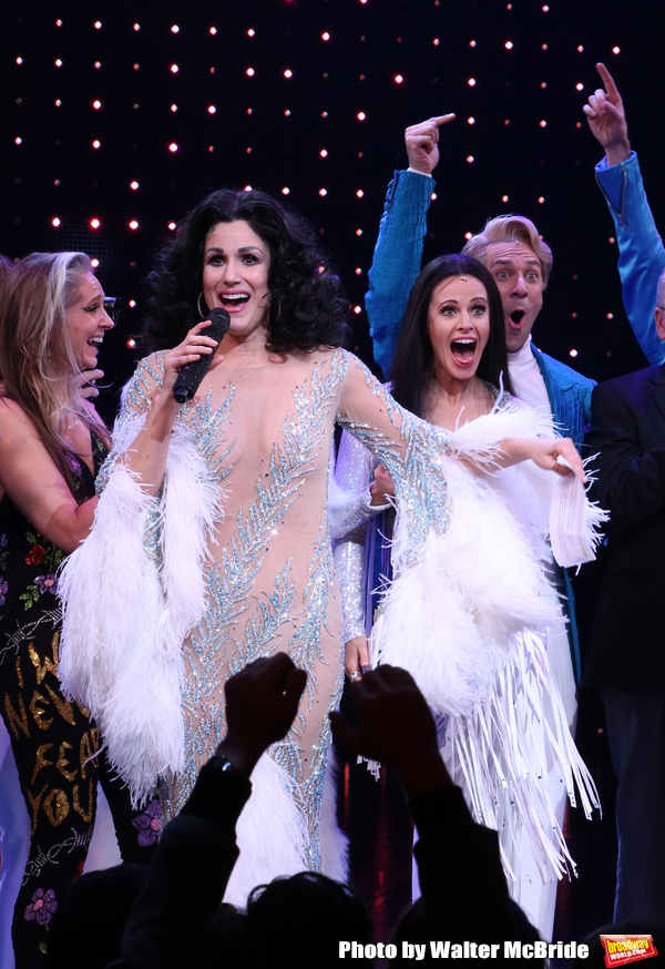 Photo Coverage: The Cast of THE CHER SHOW Takes Their Opening Night Bows and Performs With Cher