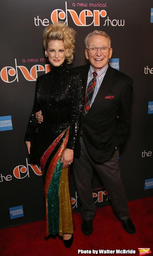 Angel Reda and Bob Mackie