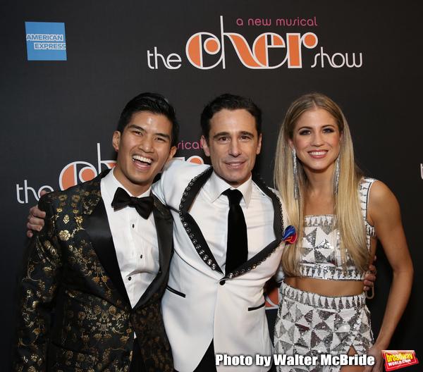 Christopher Vo, Christopher Gattelli, and Ashley Blair Fitzgerald Photo