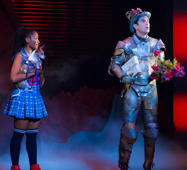 Camille Eanga-Selenge as Dorothy, Eric Craig as Tin Man. Photo by Racheal McCaig Photo