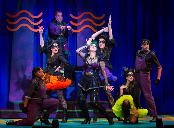 Eddie Glen as Randy (top), Sara-Jeanne Hosie as Sulphura The Wicked Witch of the West Photo