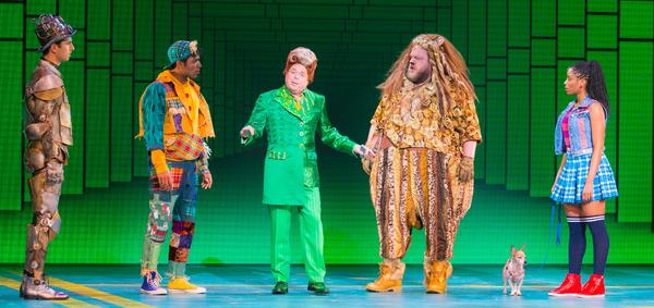 Eric Craig as Tin Man, Matt Nethersole as Scarecrow, Eddie Glen as Mr. Green, Daniel  Photo