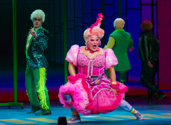 Michael De Rose as Sugarbum The Good Witch of the North in The Wizard of OZ 2. Photo  Photo