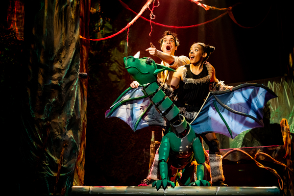 Photo Coverage: First Look at MY FATHER'S DRAGON at Synetic Theater