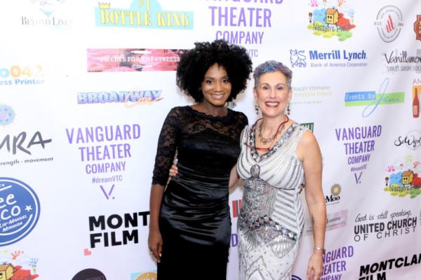 Janeece Freeman Clark, Artistic Director, and Jessica Sporn, Managing Director, at Vanguard Theater Company's Gala on November 3, 2018.