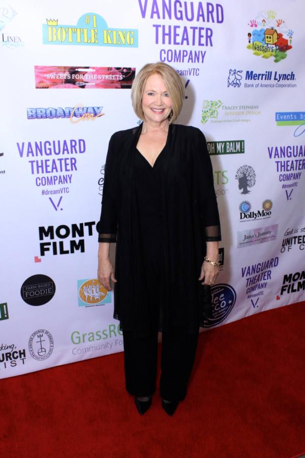 Geraldine Leer of Manifest NBC at Vanguard Theater Company's Gala on November 3, 2018.