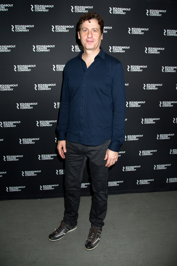 Photo Coverage: Ethan Hawke, Paul Dano & the Company of TRUE WEST Meet the Press!