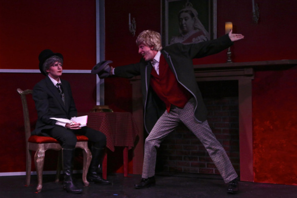 Photo Flash: First Look at SCROOGE IN ROUGE At OB Playhouse & Theatre Company