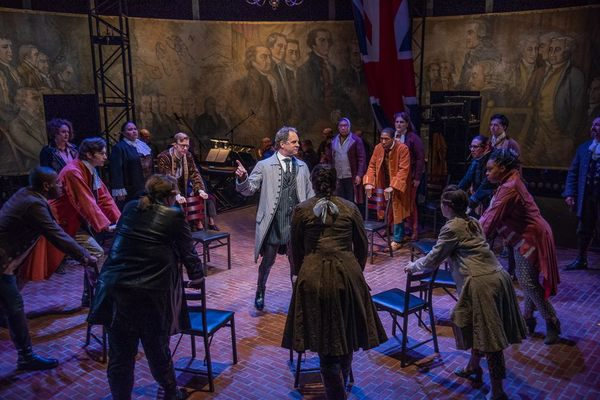 Review Roundup: New Repertory Theatre's Gender-Bent Production Of 1776