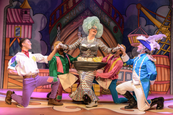 Photo Flash: ROBINSON CRUSOE Opens To Rave Reviews At Greenwich Theatre
