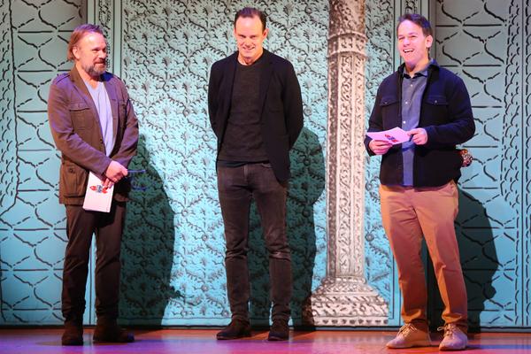 Norbert Leo Butz, Harry Hadden-Paton, Mike Birbiglia