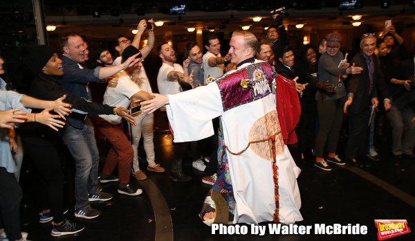 Photo Coverage: Ryan Worsing Receives the Legacy Robe for THE CHER SHOW