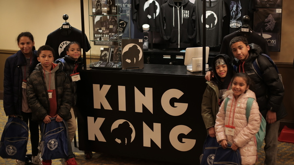 Photo Flash: NYCCHP Treats 800 Homeless Children to KING KONG