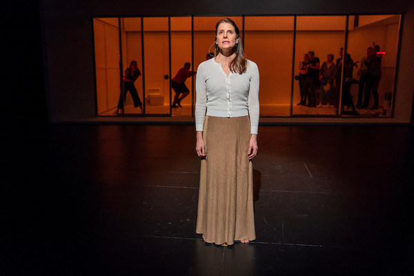 "Mia Barron- lead performer-in ""The White Album"" by Joan Didion created by Lars Jan/ E Photo"