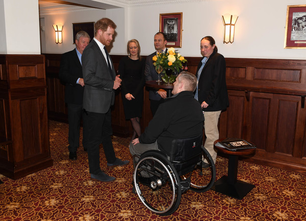 Photo Flash: HRHThe Duke Of Sussex Attends Gala Performance Of BAT OUT OF HELLIn Support Of The Invictus Games Foundation