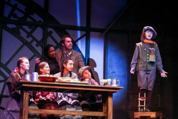 Photo Flash: First Look at SCROOGE! THE MUSICAL At Tacoma Little Theatre
