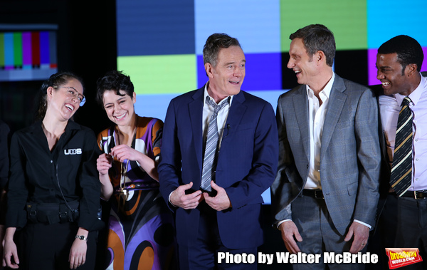 Victoria Sendra, Tatiana Maslany, Bryan Cranston,  Tony Goldwyn and Julian Elijah Mar Photo