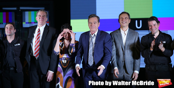 Joe Paulik, Nick Wyman, Tatiana Maslany, Bryan Cranston, Tony Goldwyn and Joseph Varc Photo