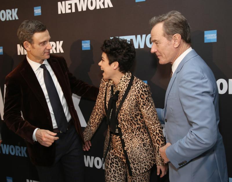 BWW Flashback: NETWORK Plays Final Broadway Performance Today!