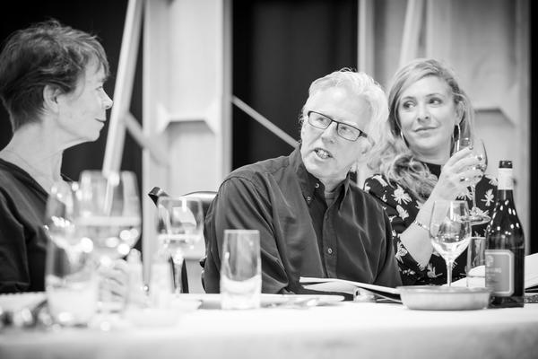 Celia Imrie, Phil Davis and Tracy-Ann Oberman