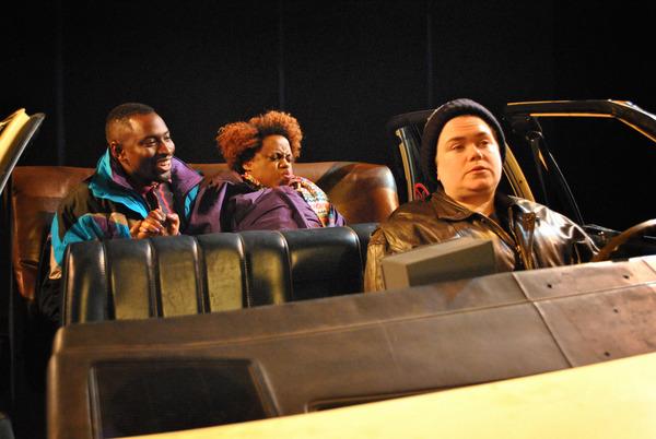 George Ellzey Jr., Delysa Richards and Regina Linn Photo